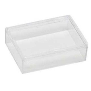 Edelsteindose ohne Schaumeinlage 45x35x13mm