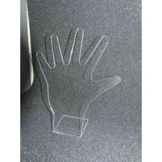 Hand Display aus Acryl 60x50x119mm