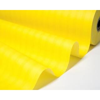 Blumenseidenpapier durchgefärbt gelb