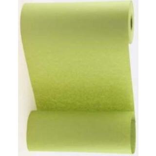 Blumenmanschettenpapier moosgrün uni