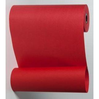 Blumenmanschettenpapier rot uni