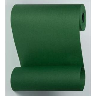Blumenmanschettenpapier tannengrün uni