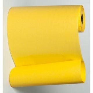 Blumenmanschettenpapier gelb uni