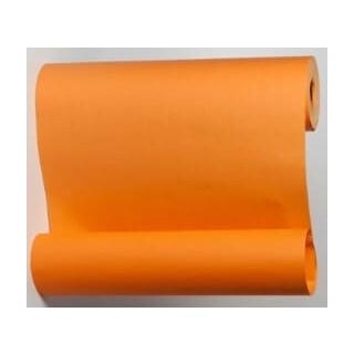 Blumenmanschettenpapier orange uni