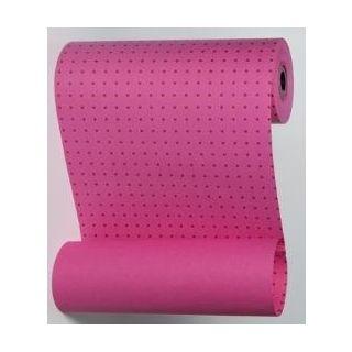 Manschettenpapier mit Punkte-Motiv pink