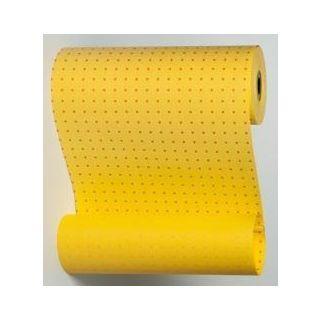 Manschettenpapier mit Punkte-Motiv gelb