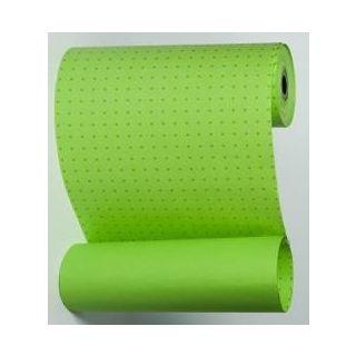 Manschettenpapier mit Punkte-Motiv maigrün