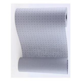 Manschettenpapier mit Punkte-Motiv grau