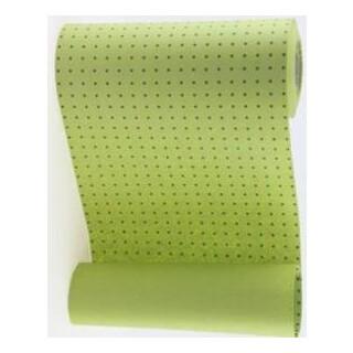 Manschettenpapier mit Punkte-Motiv moosgrün