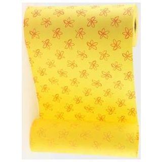 Manschettenpapier Flowers gelb