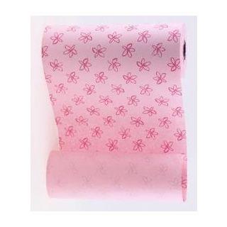 Manschettenpapier Flowers rosa