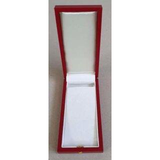 Ordenetui / Medaillenetui 125x65x28mm rot