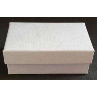 Manschettenknopfetui Aachen 78x45x30mm weiß