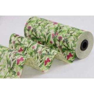 Blumenmanschettenpapier Graspapier Maja