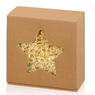 Geschenkkarton Star 200x200x100mm