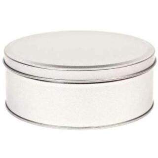 Blechdose 130x52mm - runde Metalldose