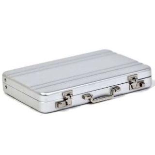 Visitenkartenetui - Aluminium Koffer